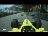 Аэродинамические игры в Монако Формула-1 классика