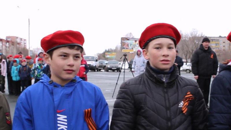 Краевой юнармейский патриотический автомарш Юнармия - от Победы к Победам! 2018