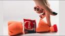 Кинетический песок для детей Делаем бутылку Кока Кола Учим цвета