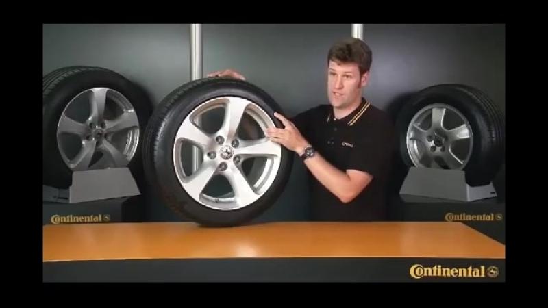 Как читать маркировку шин. Видео-инструкция от компании Continental