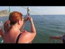 мой полёт на тарзанке в Чёрное море
