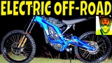 New Sur-Ron X electric motorcycle off-road review with FOC controller = More POWEEER