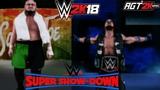 WWE 2K18 ONLINE - AJ Styles (c) vs. Samoa Joe (No DQ Match) WWE Super Show-Down Preview