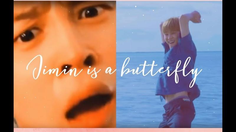 BTS Jimin 지민 Is a butterfly ~
