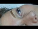 Перманентный макияж бровей сразу после процедуры