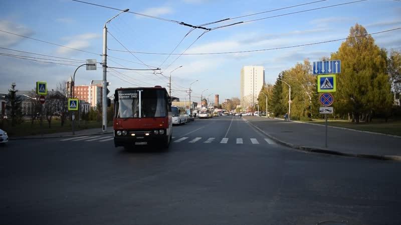 Автобус Икарус Ikarus 256 В 973 УХ 22 с приветливой бригадой