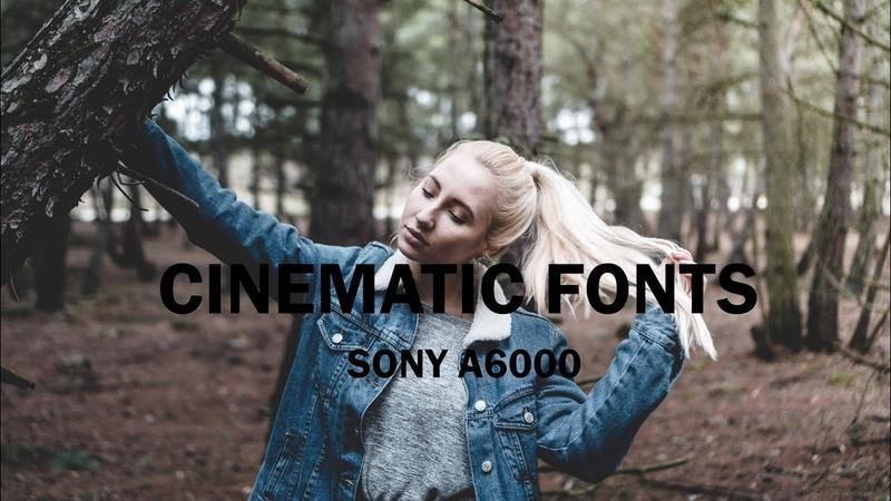 Cinema l video test l sony a6000 sony 35 mm 1.8 l s-log2