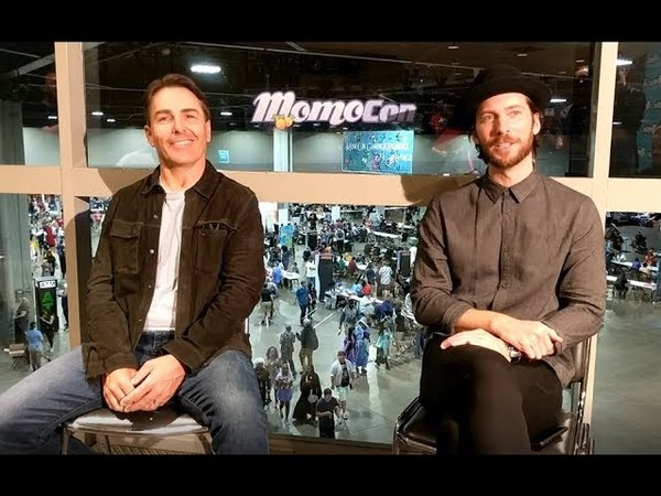 PSVG Interviews Troy Baker Nolan North at Momocon 2018