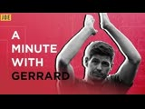 Steven Gerrard on Rangers, Liverpool, Klopp and Messi | A Minute with Gerrard