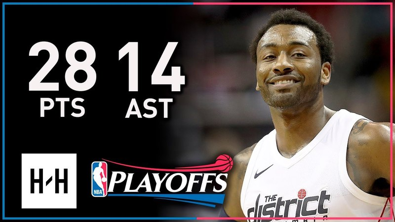 John Wall Full Game 3 Highlights Wizards vs Raptors 2018 Playoffs 28 Points 14 Ast CRAZY