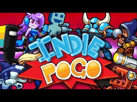 Файтинг с героями из разных игр Indie Pogo 1