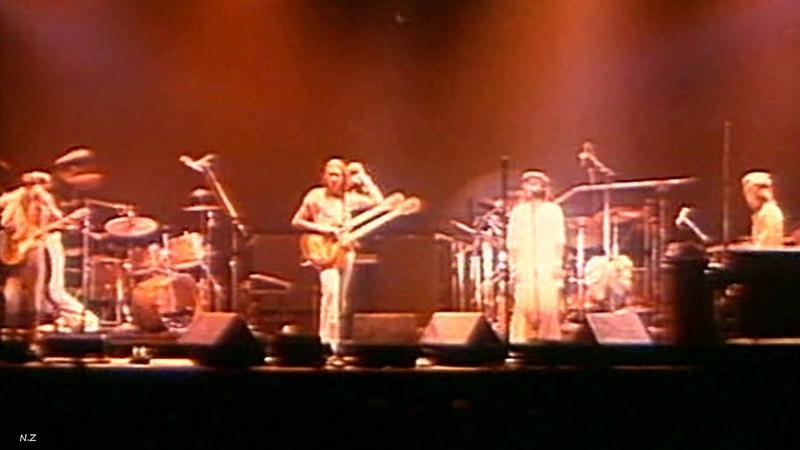 Genesis Los Endos 1976 Live Video Sound HQ