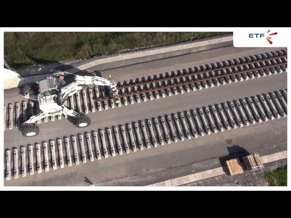 Innovation : Track laying HSL