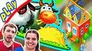 В Городе МЕЧТЫ БолтушкИ и ПРоХоДиМЦа Растет Район НОВОЕ ПРОХОДИМЦЕВО! 64 Игра для Детей - Township