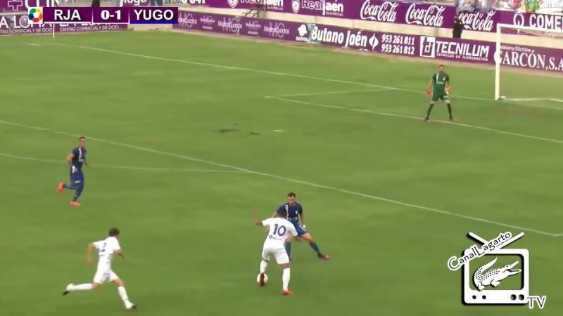 Реал Хаэн CF - Юго-UD Сокуэльямос CF, 1-1, Терсера 2017-2018, 1/4 нечемпионского плей-офф, 1 матч