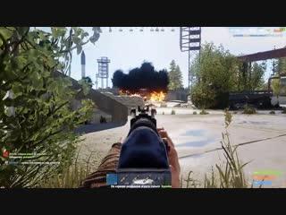 [Exelent] RUST - Вышли во время рейда! Борьба за танк!