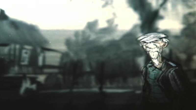 Очень старый человек с огромными крыльями Габриэль Гарсиа Маркес 1990 Олег Белоусов мультфильм Беларусьфильм