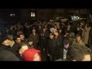 Киев. 14 апреля, 2014. Кандидата в президенты Царева ждут для встречи UkrStreamTV