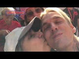 AARON CARTER Honest. Heart. Hot. at LA Pride - YouTube