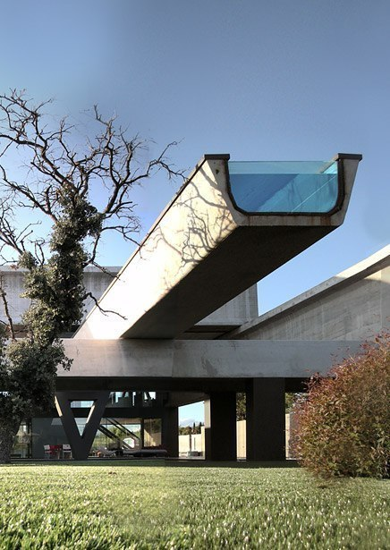Дом Гемероскопиум (Hemeroscopium House) в Испании от Ensamble Studio.