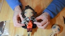 Doll tutorial Part 4 needle felt doll hair Needles used are are extremely sharp so use carefully