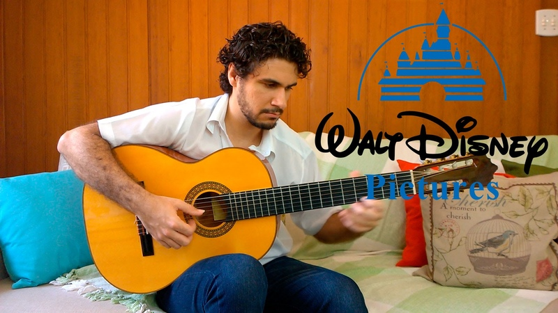 When You Wish upon a Star (Disney Pinocchio Theme) - Fingerstyle Guitar (Marcos Kaiser) 75
