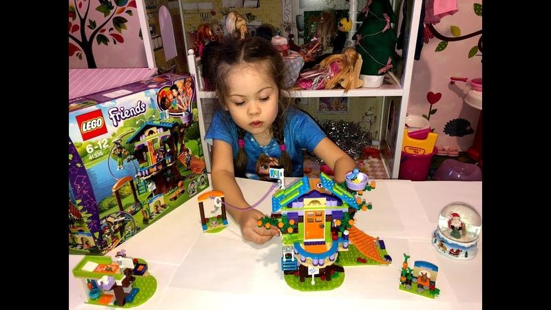 Лего френдс распаковка LEGO Friends Mia s Tree House 41335 toy
