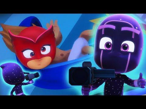 Pijamaskeliler Türkçe   Baykuş Kız Komik Anları 1   Klip Derlemesi   çizgi filmleri çocuklar için