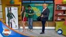 'Burro' Van Rankin y 'Perro' Bermúdez apadrinan nueva sección | Clima mundialista | Hoy