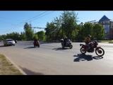 Открытие мотосезона 2018 Иваново, колонна