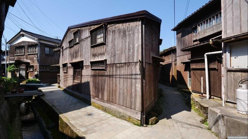 JG HDR 新潟 佐渡 北前船の宿根木(重伝建) Niigata,Sado Shukunegi(Historic District)