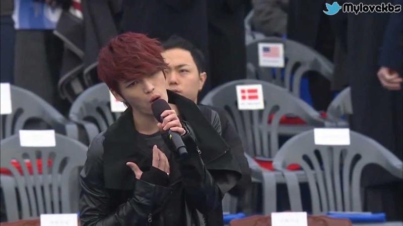 [비하인드 영상] 대통령취임식 _ JYJ 축하공연.wmv