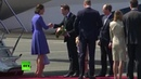 William and Kate arrive in Berlin ahead of 3-day visit
