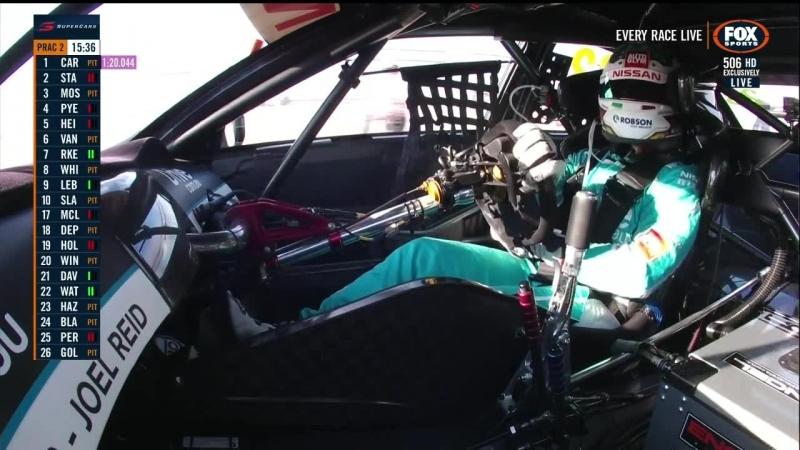 V8 Supercars 2018. Round 6. Winton. Practice 2