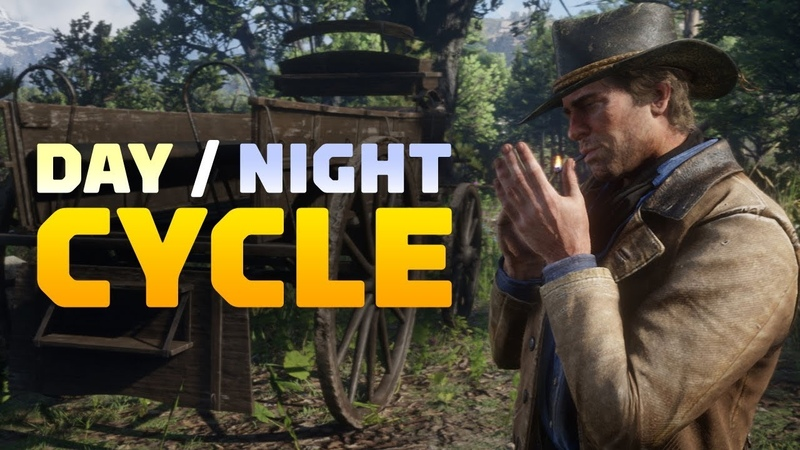 Red Dead Redemption 2 A Full Day and Night Cycle 4K