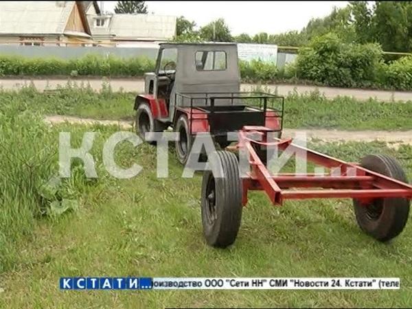Новый трактор собран на «Мининском автозаводе»