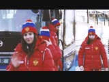 Тренировка женской молодёжки перед матчем с Канадой