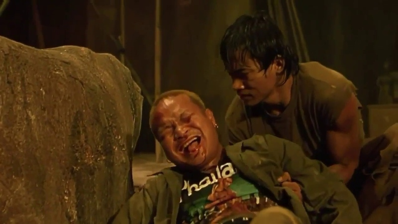 TonyJaa MuayThai Ong-bak Tony Jaa The Replay Fight Scenes Part 2 : Ong Bak Muay Thai Warrior