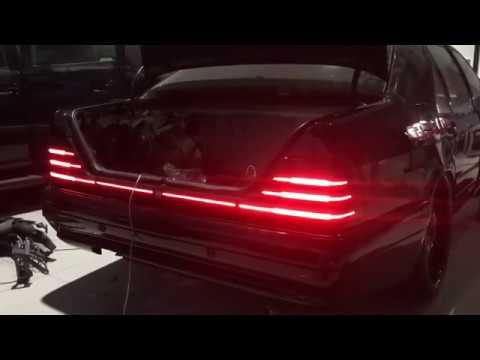 Mercedes Benz W140 BRABUS V12 LED Tail Lights
