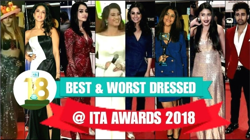 "TV Celebs On The Red Carpet Of 18th ""ITA AWARDS 2018"" 
