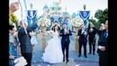 Christina Kevin: Disneyland Castle Wedding 5min Highlight [HD]