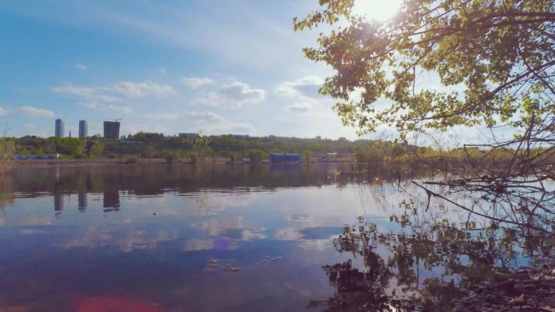 Таймлапс на Гребном канале Нижний Новгород 2018