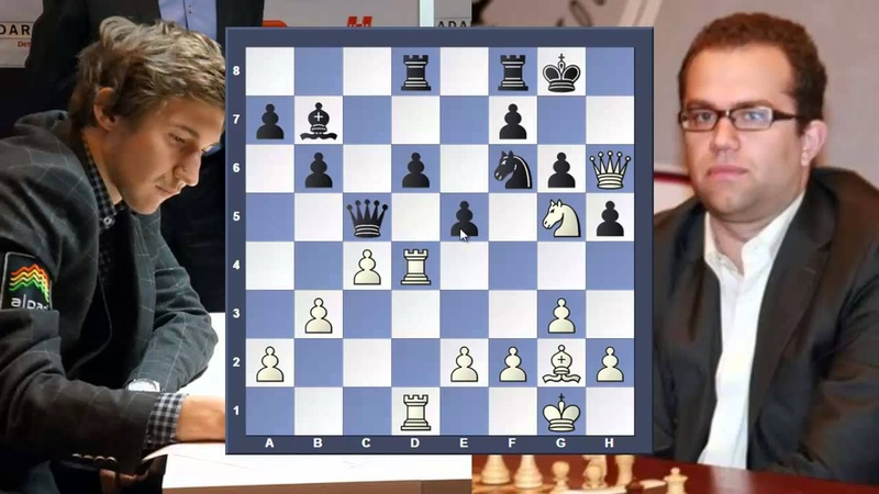 Eljanov vs Karjakin. Быстрая победа