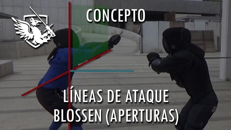 Líneas de ataque y Blossen (Aperturas)