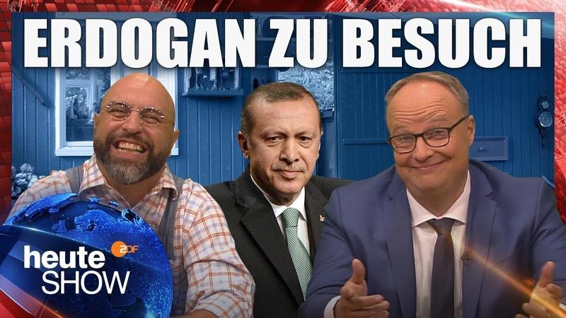 Erdogan zu Besuch in Deutschland heute show vom 28 09 2018