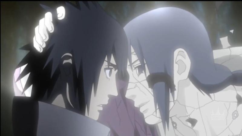 последняя встреча Саске и Итачи до слёз
