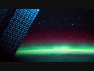 Нереально красивое видео с МКС