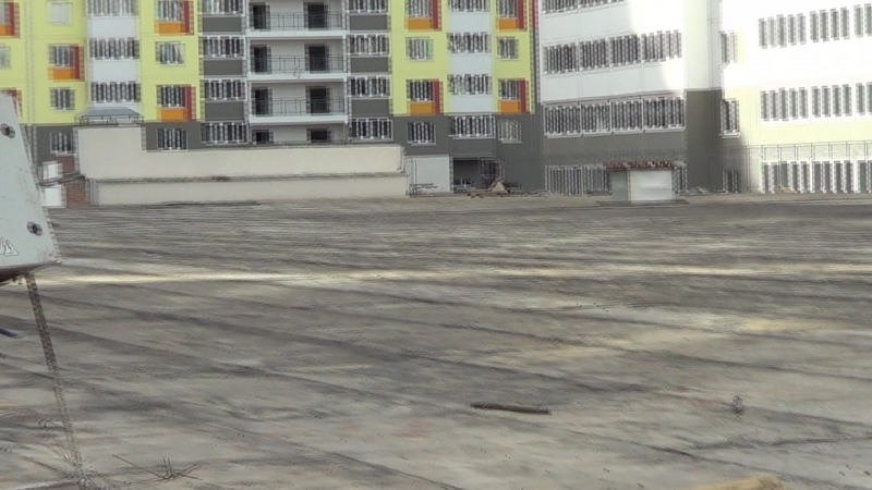 Видео съемка строительных работ ЖК Акварель Оренбург 17.06.2018 часть 7