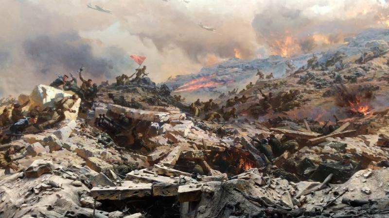Диорама 'Штурм Сапун-горы в мае 1944г'
