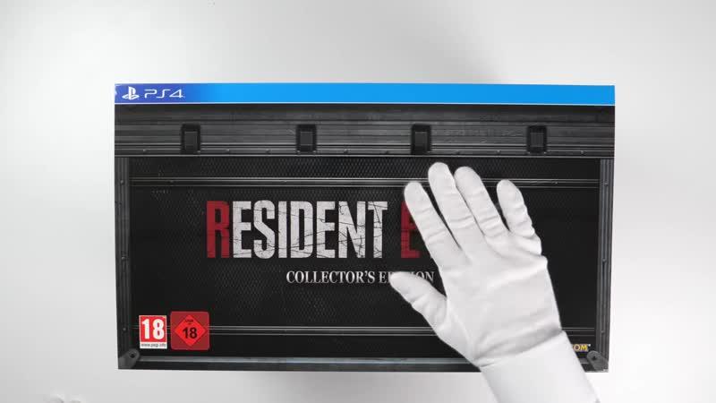Коллекционное издание Resident Evil 2 Remake